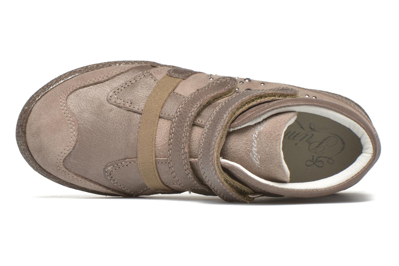 Chaussures à scratch Primigi Hulda 2-E Beige vue gauche
