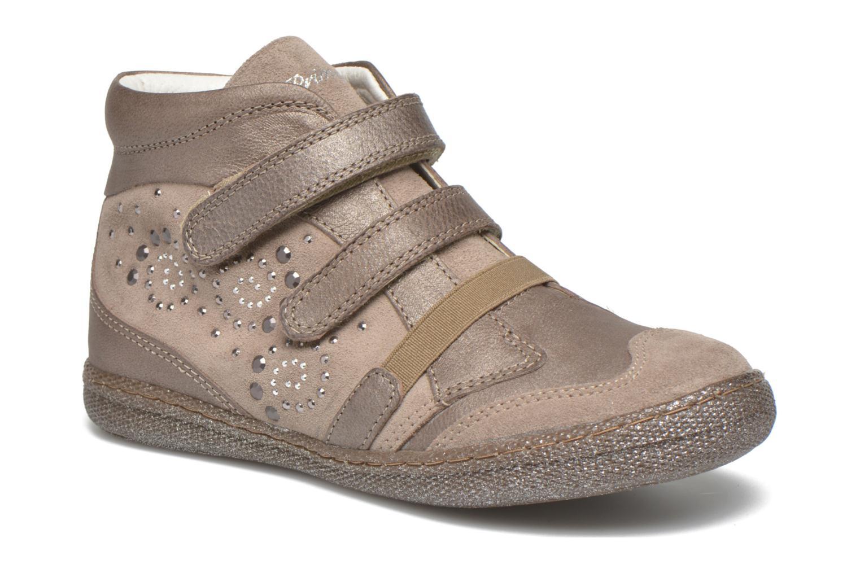 Chaussures à scratch Primigi Hulda 2-E Beige vue détail/paire