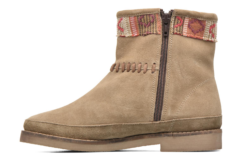 Bottines et boots Coolway Babette Beige vue face