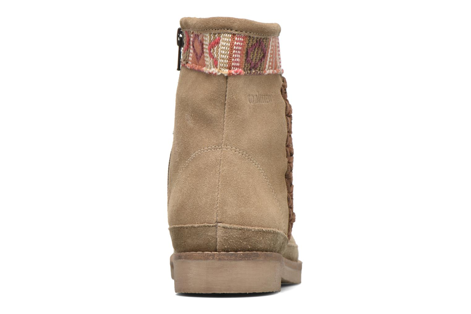 Ankle boots Coolway Babette Beige view from the right