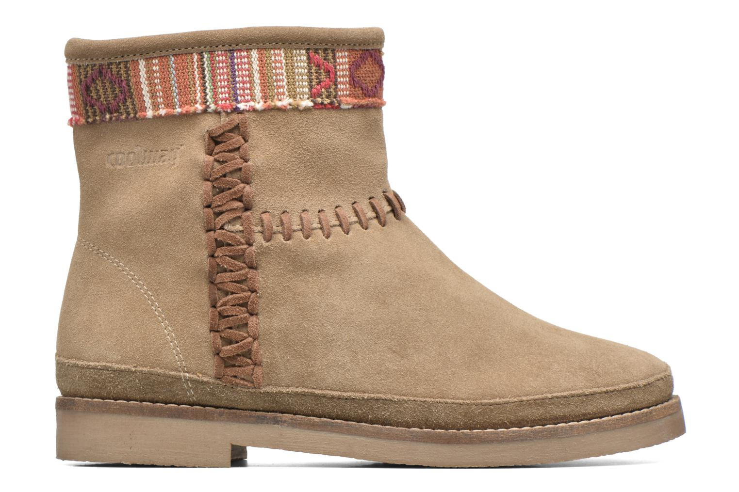 Ankle boots Coolway Babette Beige back view