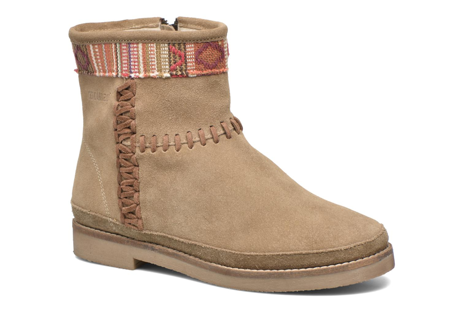 Ankle boots Coolway Babette Beige detailed view/ Pair view