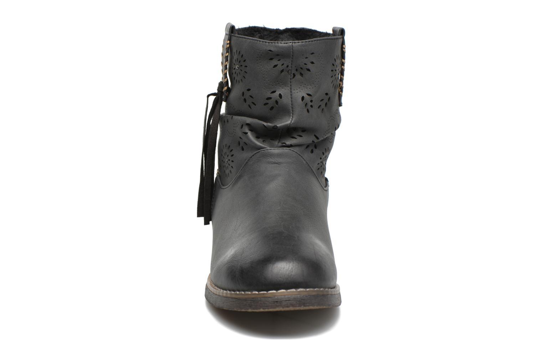 Bottines et boots Coolway Baili Noir vue portées chaussures