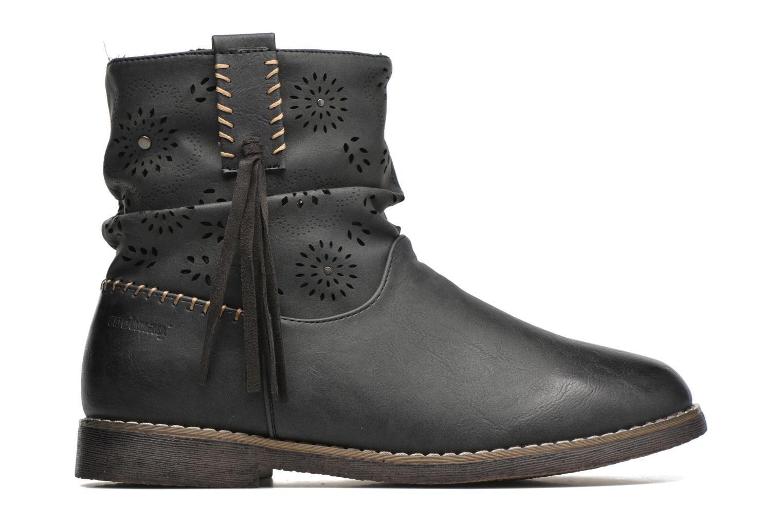 Bottines et boots Coolway Baili Noir vue derrière