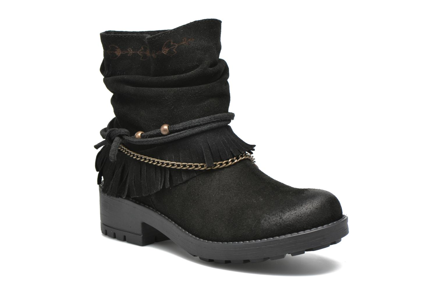 Ankle boots Coolway Belia Black detailed view/ Pair view
