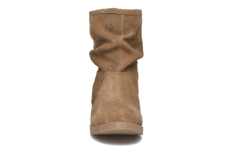 Bottines et boots Coolway Betina Marron vue portées chaussures