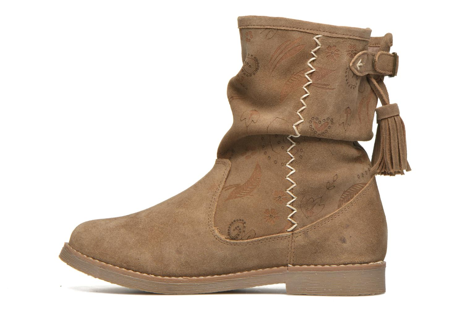 Ankle boots Coolway Betina Brown front view