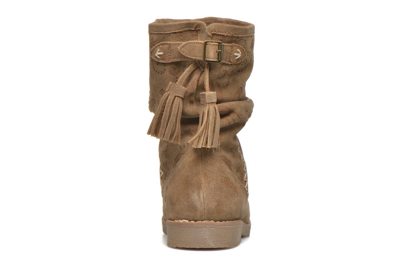 Bottines et boots Coolway Betina Marron vue droite