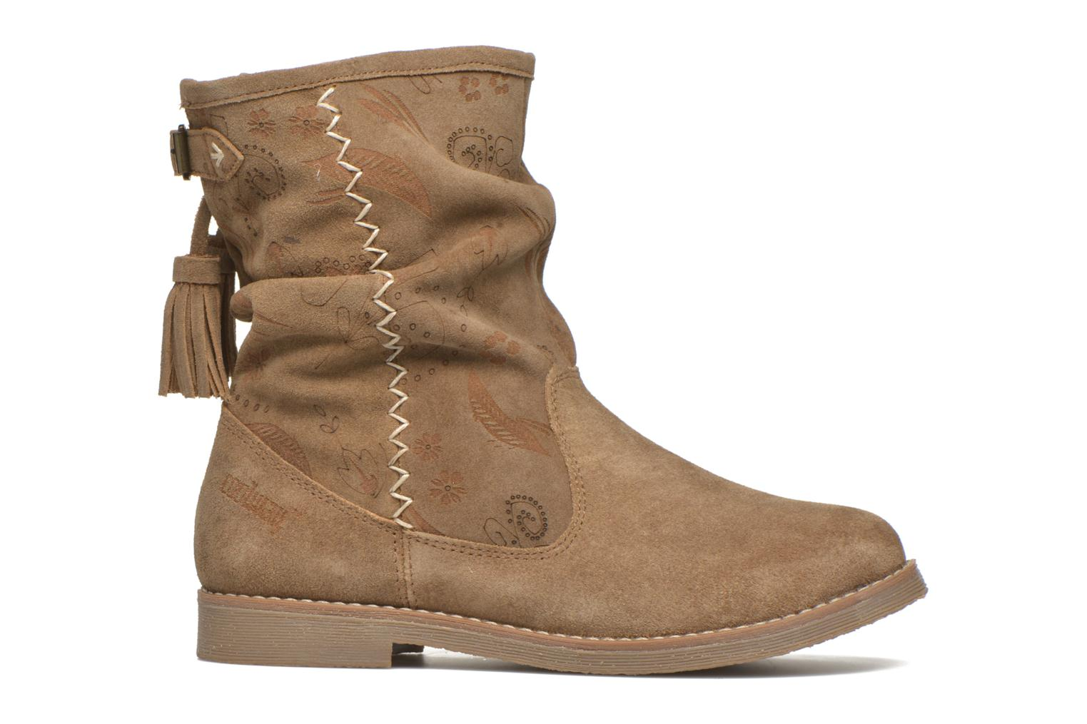 Ankle boots Coolway Betina Brown back view