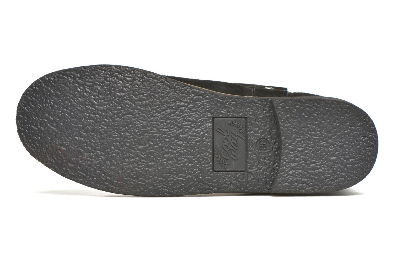 Bottines et boots Coolway Betusta Noir vue haut