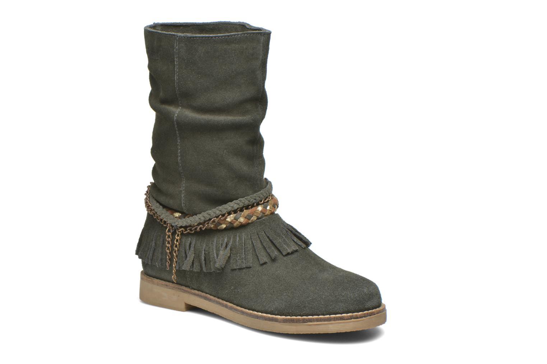 Bottines et boots Coolway Biara Vert vue détail/paire