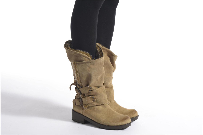 Bottines et boots Coolway Bone Marron vue bas / vue portée sac