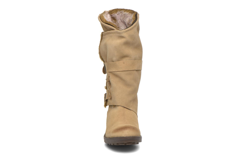 Bottines et boots Coolway Bone Marron vue portées chaussures