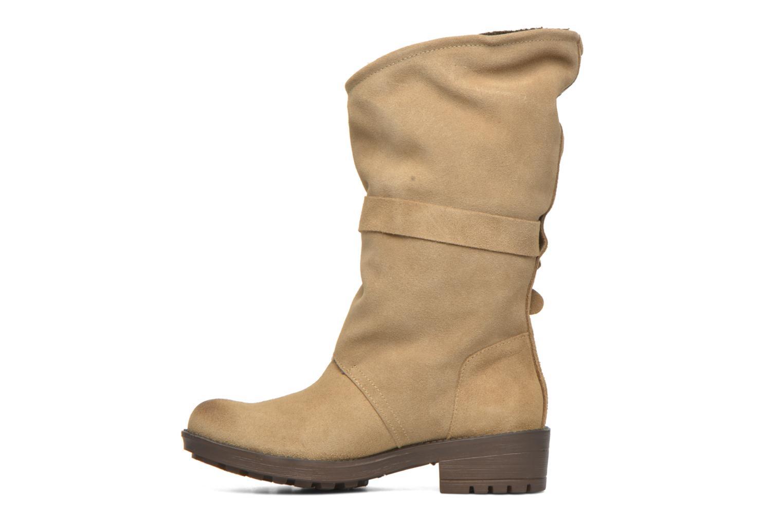 Bottines et boots Coolway Bone Marron vue face