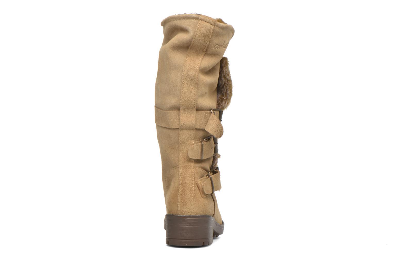 Bottines et boots Coolway Bone Marron vue droite