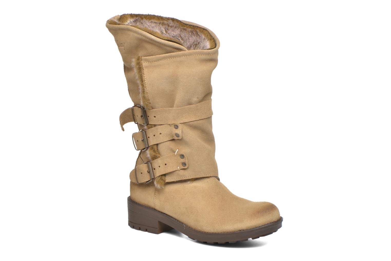 Bottines et boots Coolway Bone Marron vue détail/paire