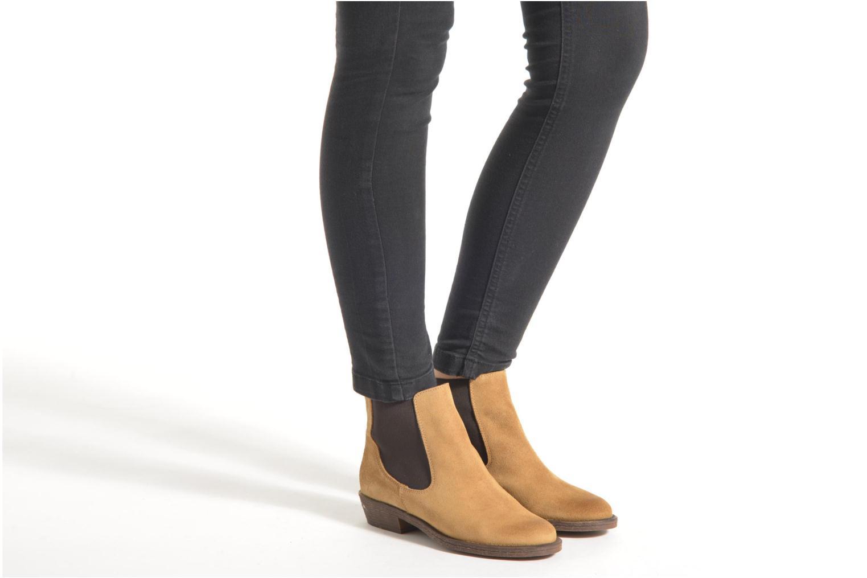 Stiefeletten & Boots Coolway Bradley schwarz ansicht von unten / tasche getragen