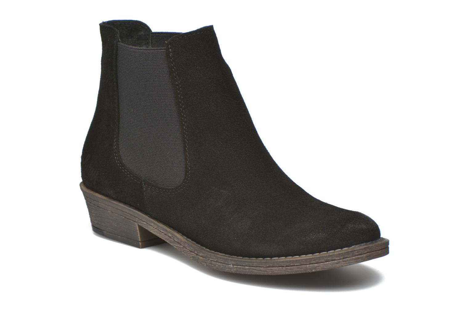 Ankle boots Coolway Bradley Black detailed view/ Pair view