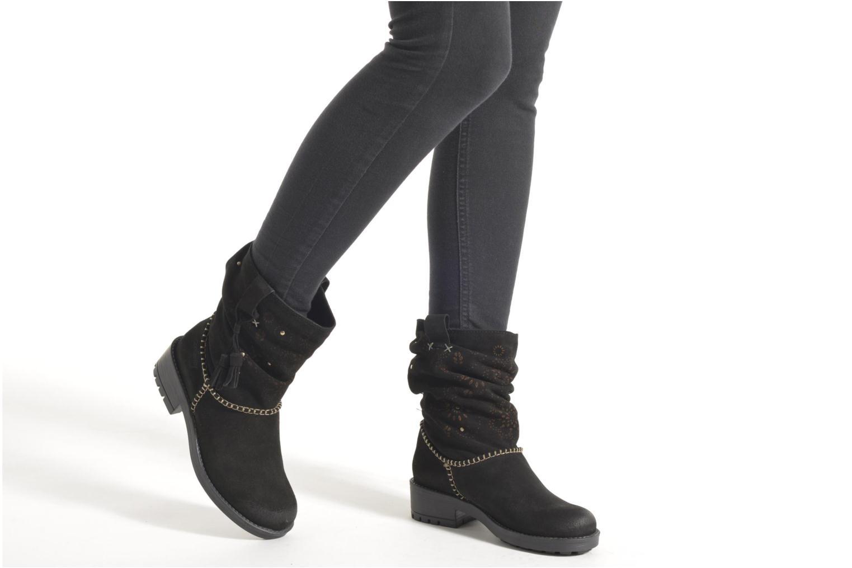 Bottines et boots Coolway Brisi Marron vue bas / vue portée sac