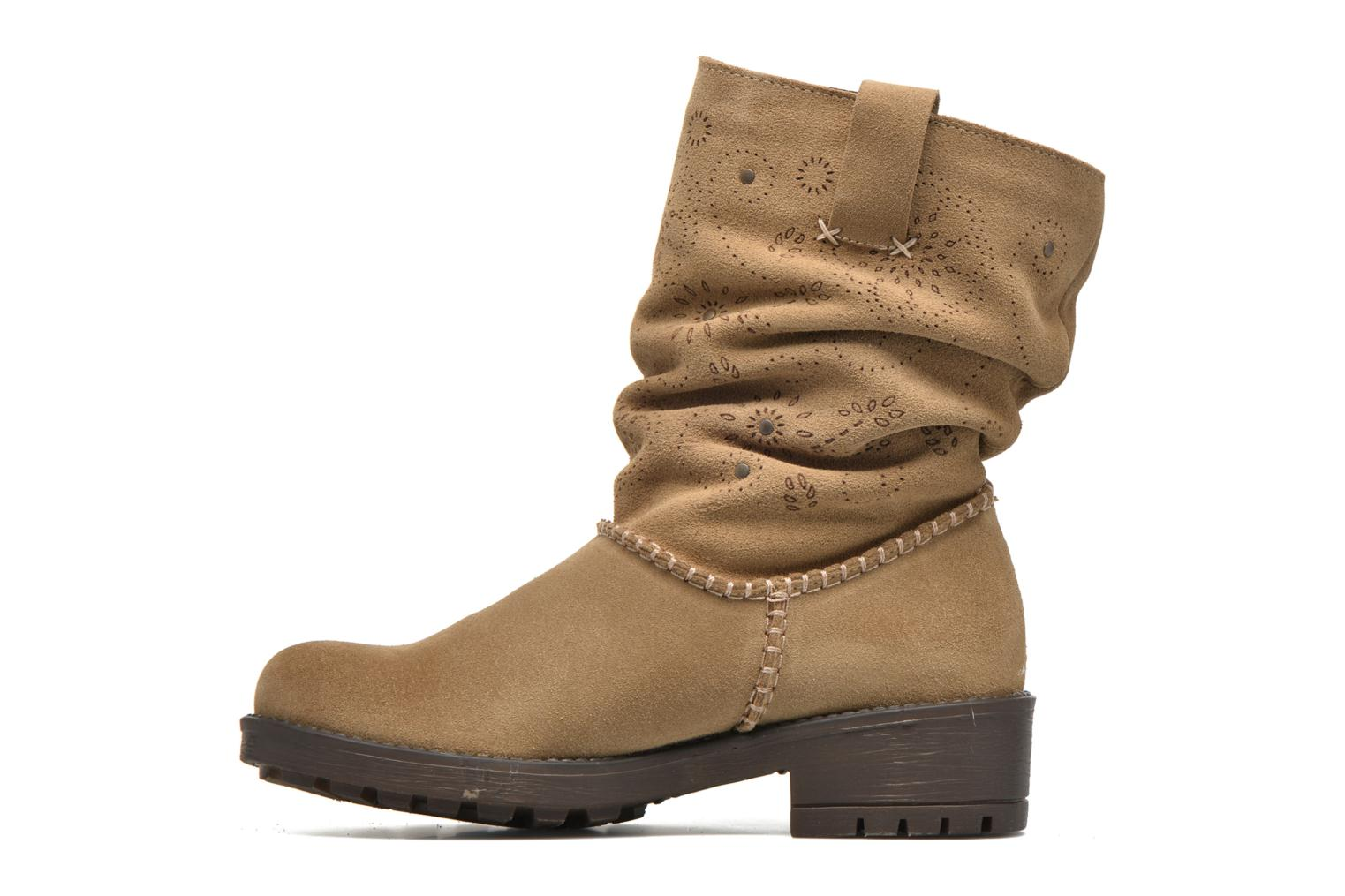 Ankle boots Coolway Brisi Brown front view