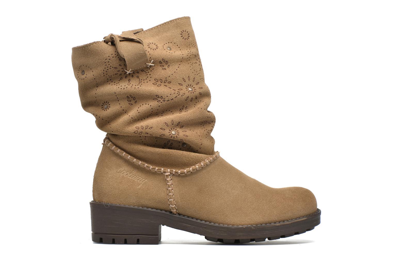 Bottines et boots Coolway Brisi Marron vue derrière