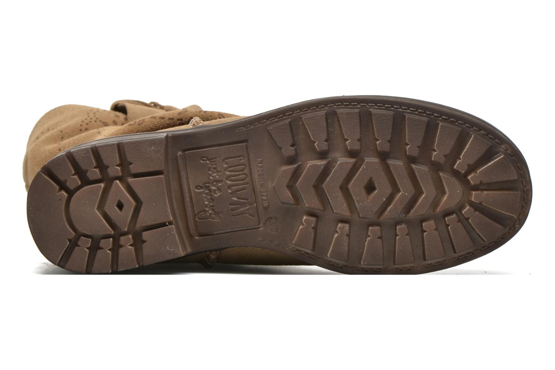 Bottines et boots Coolway Brisi Marron vue haut