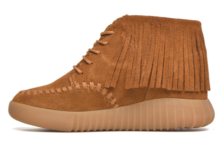 Chaussures à lacets Coolway Buzo Marron vue face