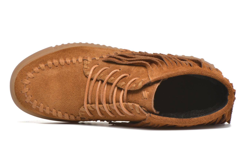 Chaussures à lacets Coolway Buzo Marron vue gauche