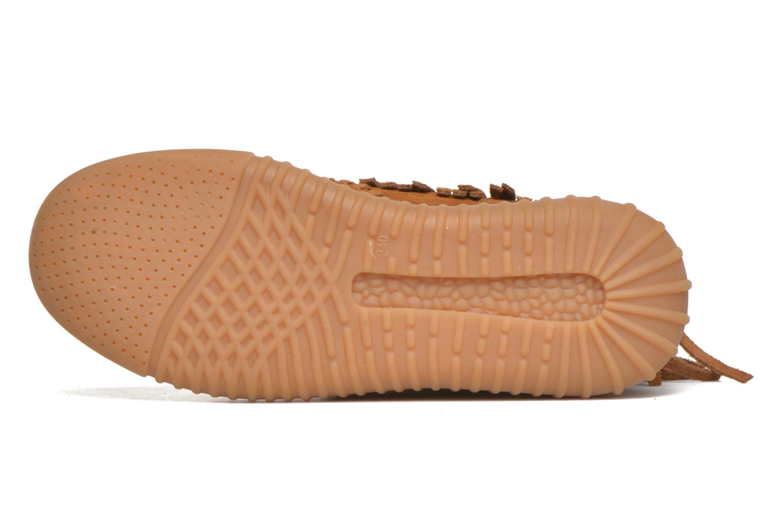 Chaussures à lacets Coolway Buzo Marron vue haut