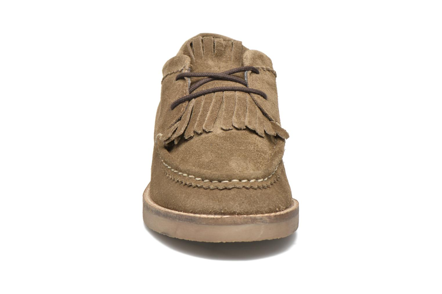 Lace-up shoes Coolway Carola Green model view