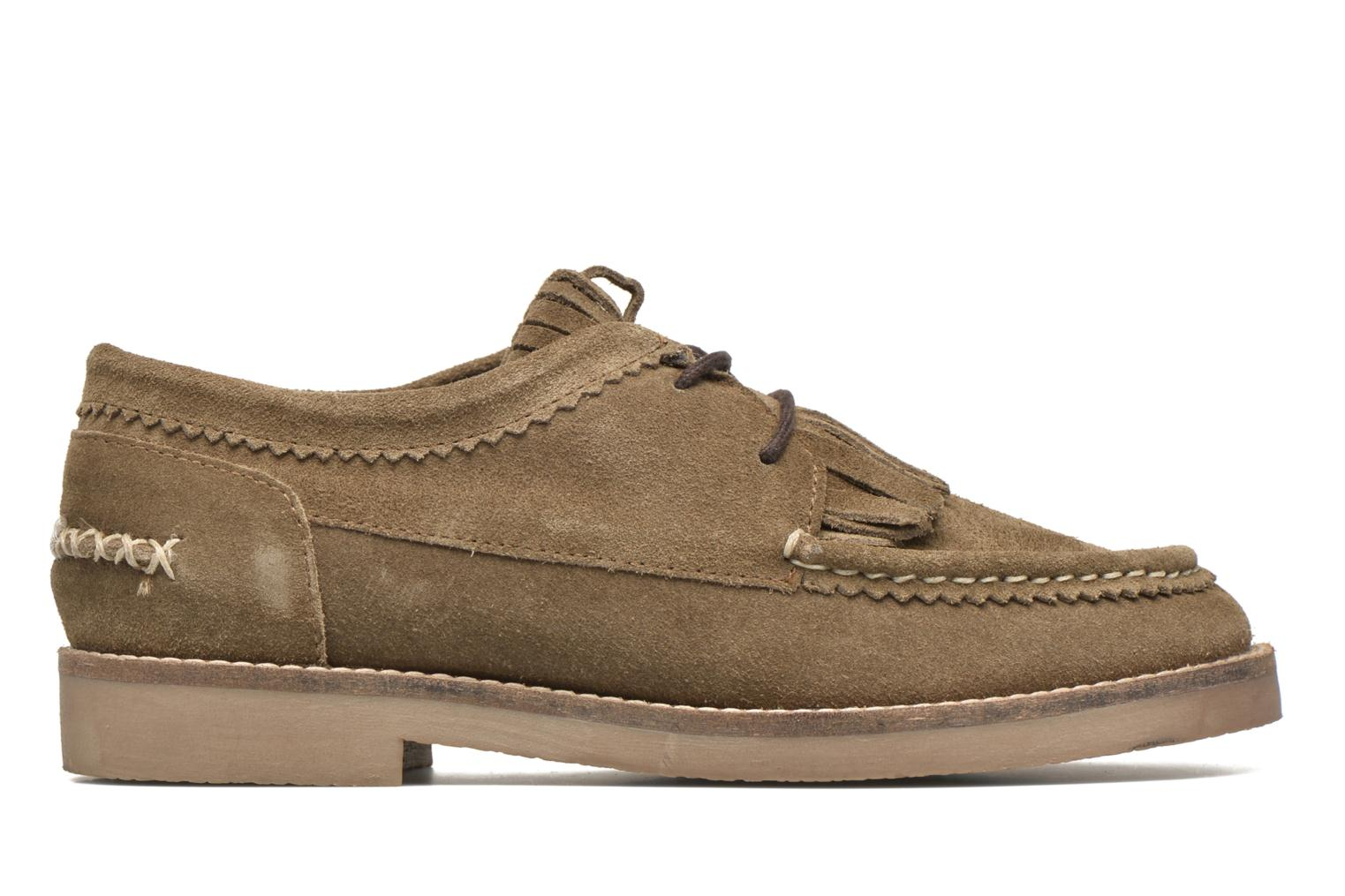 Lace-up shoes Coolway Carola Green back view