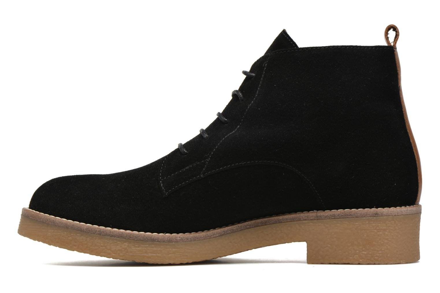 Ankle boots Georgia Rose Lucrepe Black front view