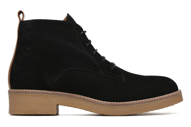 Bottines et boots Georgia Rose Lucrepe Noir vue derrière