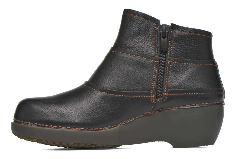 Bottines et boots El Naturalista Tricot NC79 Noir vue face