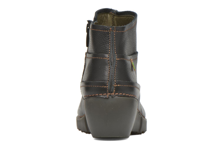 Bottines et boots El Naturalista Tricot NC79 Noir vue droite
