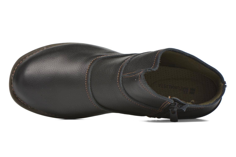 Bottines et boots El Naturalista Tricot NC79 Noir vue gauche