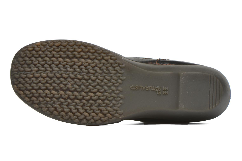 Bottines et boots El Naturalista Tricot NC79 Noir vue haut
