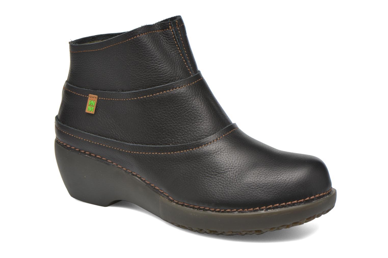 Bottines et boots El Naturalista Tricot NC79 Noir vue détail/paire