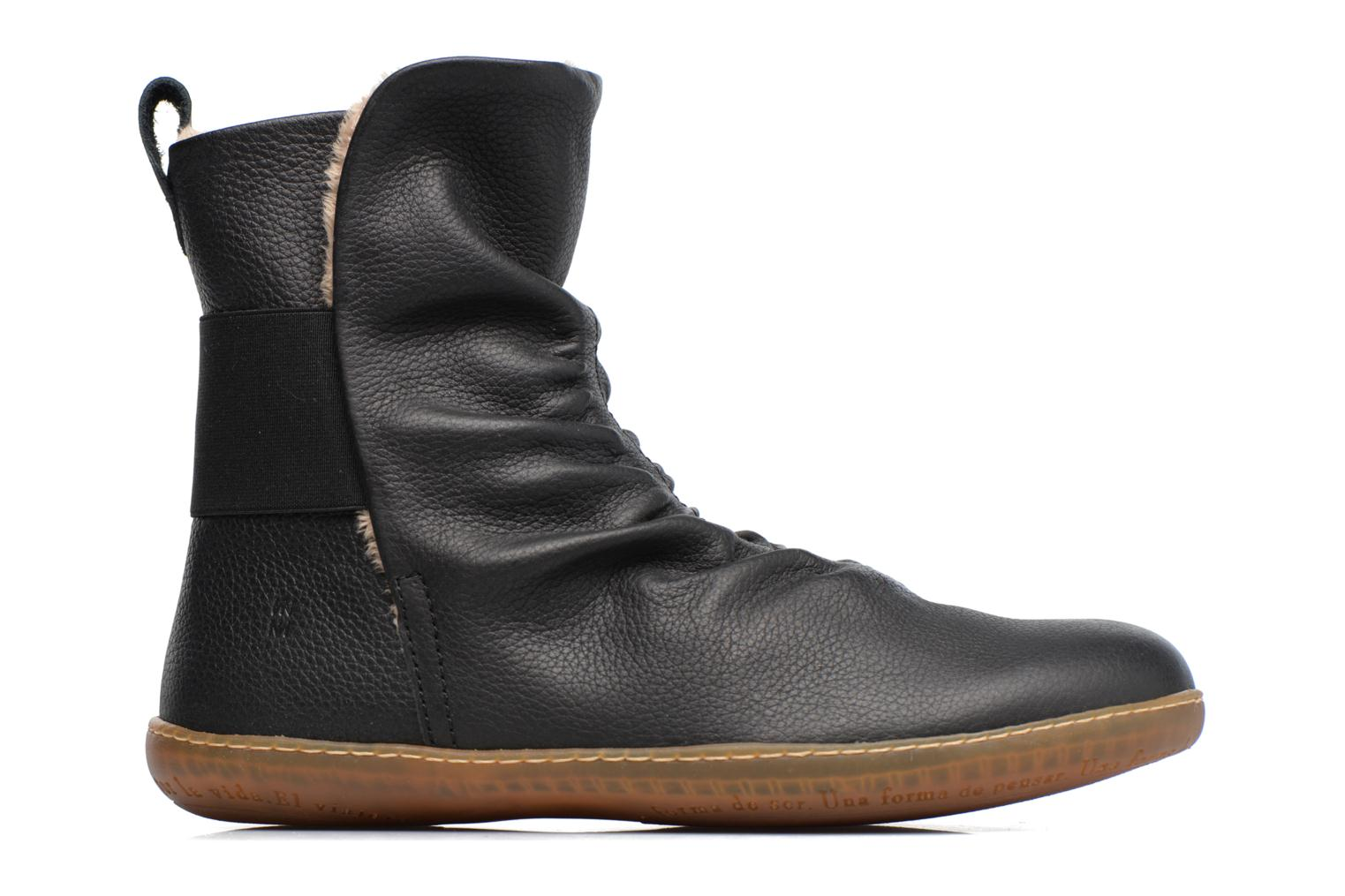 Ankle boots El Naturalista El Viajero NE13 Black back view