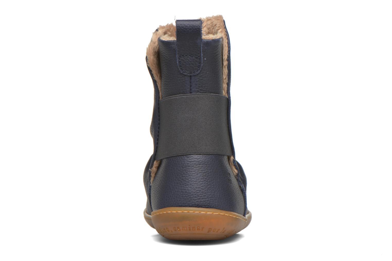 Bottines et boots El Naturalista El Viajero NE13 Bleu vue droite