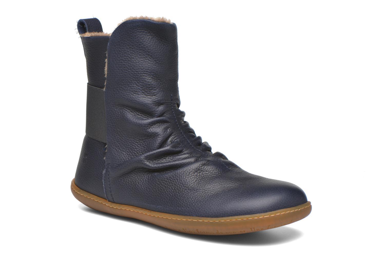 Bottines et boots El Naturalista El Viajero NE13 Bleu vue détail/paire