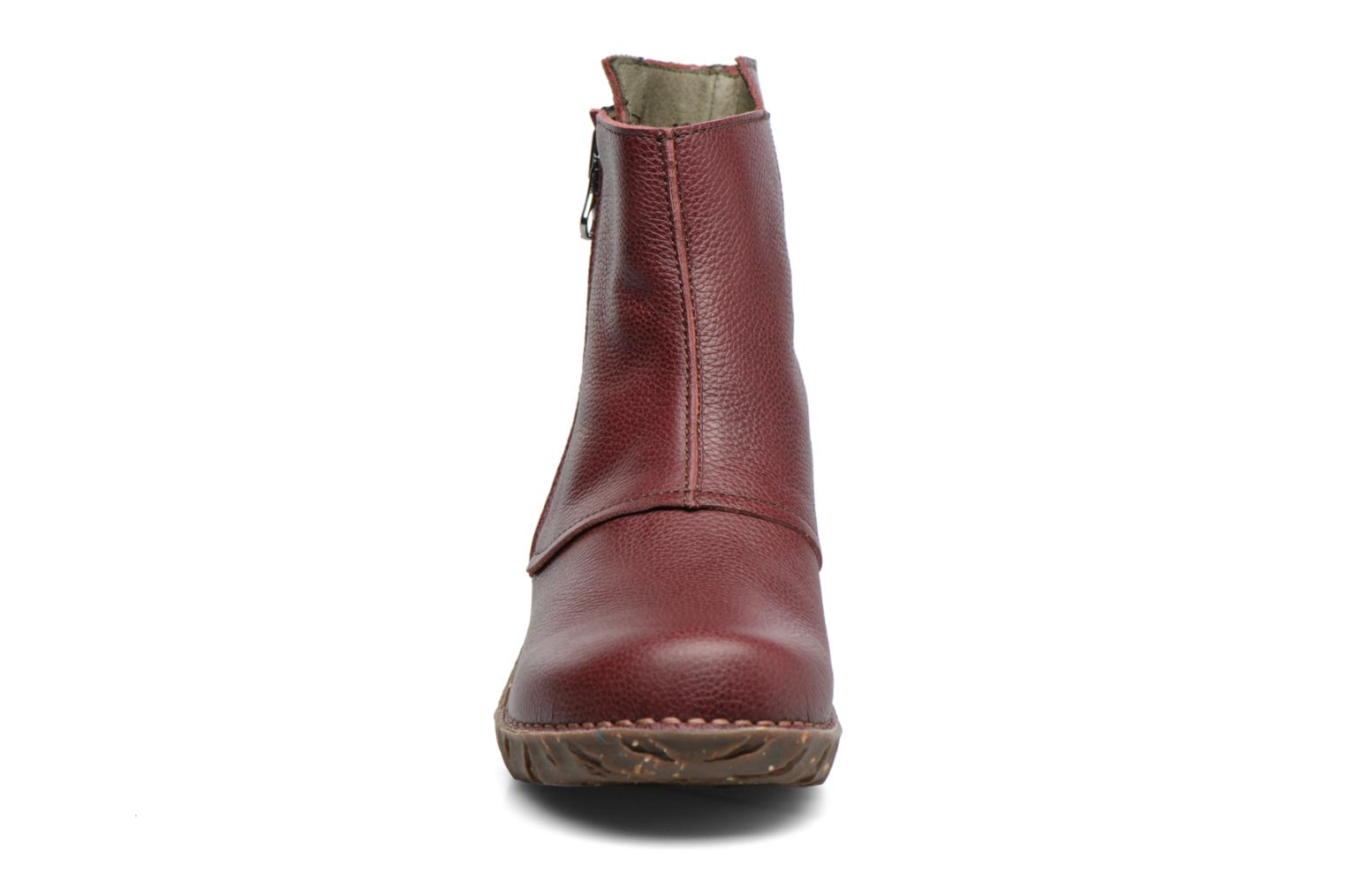 Ankle boots El Naturalista Yggdrasil NE28 Burgundy model view
