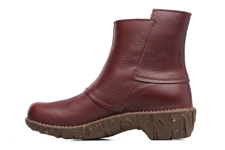 Bottines et boots El Naturalista Yggdrasil NE28 Bordeaux vue face