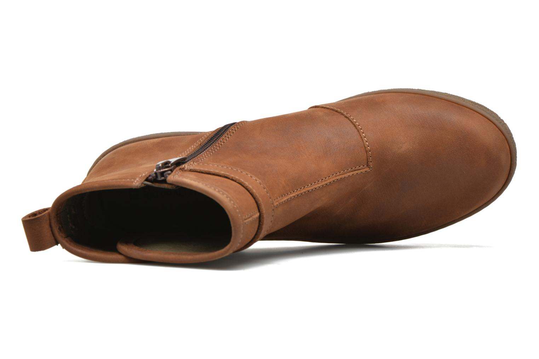 Stiefeletten & Boots El Naturalista Lichen NF71 braun ansicht von links