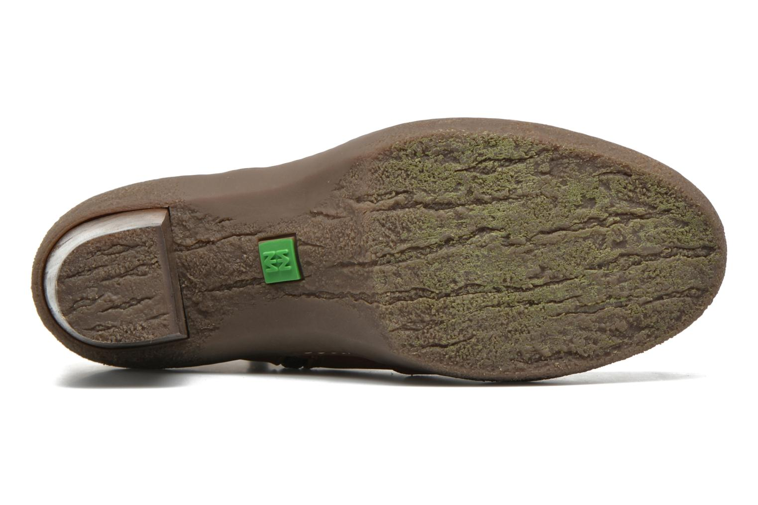 Ankle boots El Naturalista Lichen NF71 Brown view from above