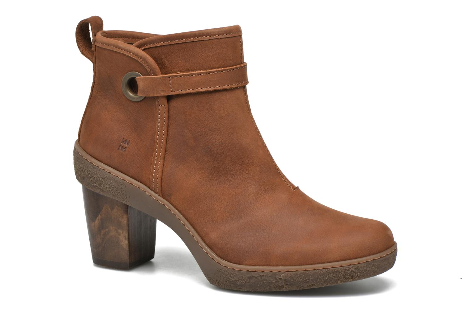 Ankle boots El Naturalista Lichen NF71 Brown detailed view/ Pair view