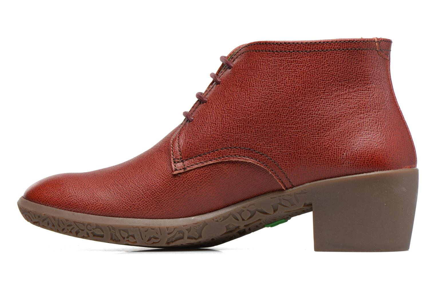 Lace-up shoes El Naturalista Alhambra NG11 Red front view
