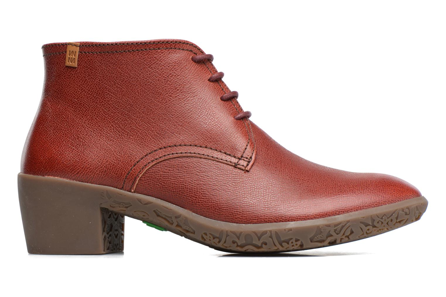 Lace-up shoes El Naturalista Alhambra NG11 Red back view