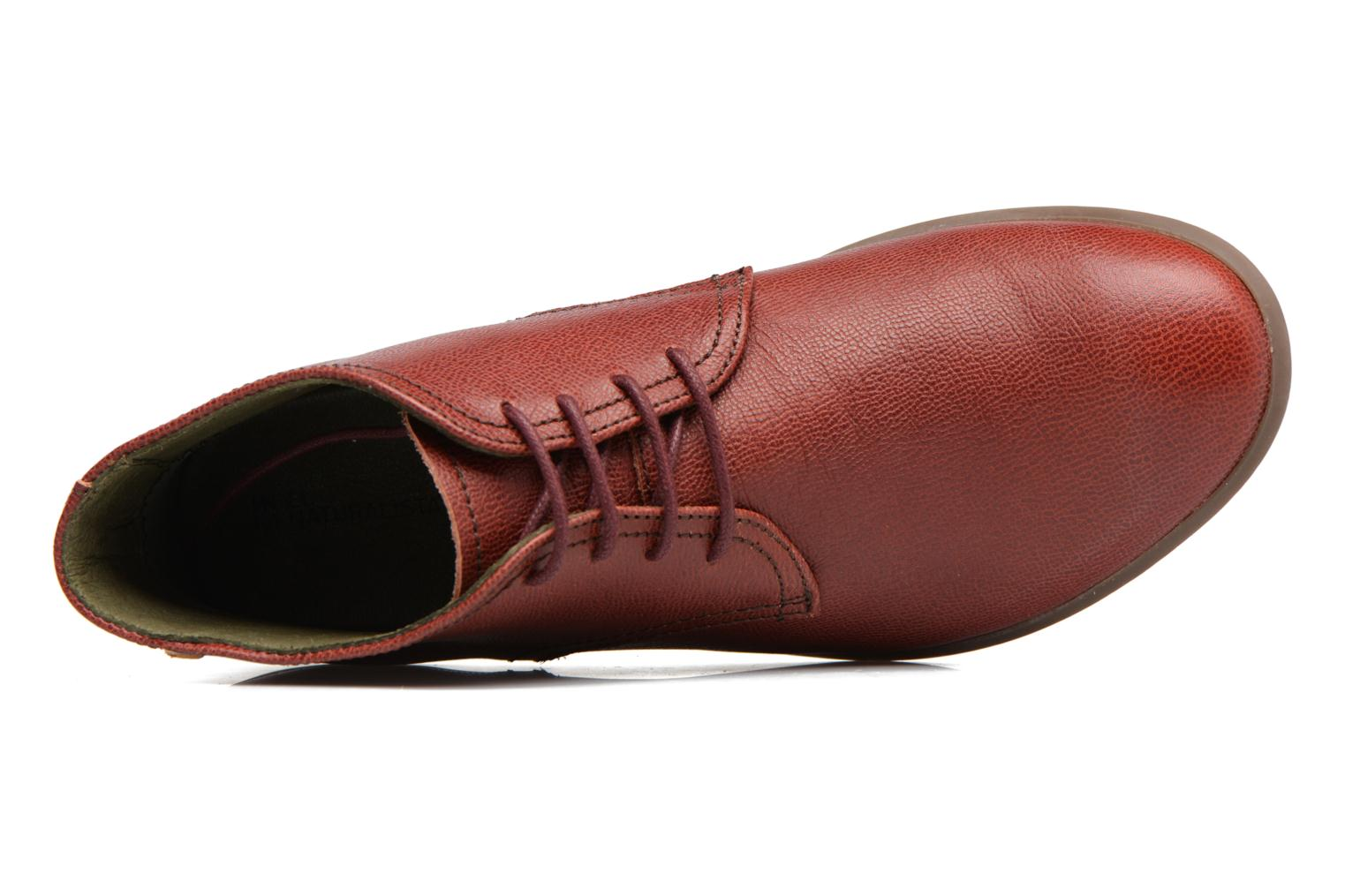 Lace-up shoes El Naturalista Alhambra NG11 Red view from the left