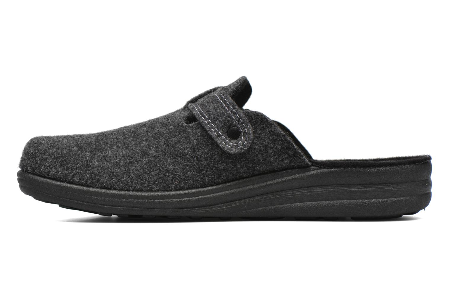 Slippers Romika Village 240 Grey front view